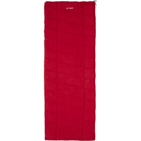 VAUDE Navajo 500 Syn Sac de couchage, dark indian red
